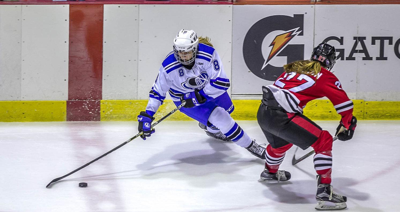 Une persévérance à toute épreuve - Hockey féminin