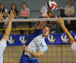 Volleyball masculin : Les Carabins battent Laval, 2e équipe au pays