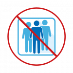 Accompagnateurs interdits